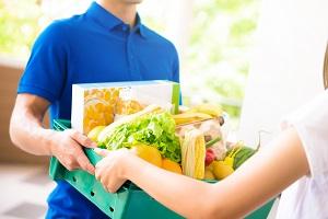 Как купить продукты с доставкой на дом в СПб